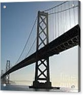 Bay Bridge Morning Acrylic Print