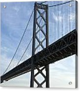 Bay Bridge San Francisco Acrylic Print