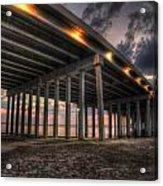 Bay Bridge Sunset 2 Acrylic Print