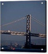 Bay Bridge West Span Acrylic Print