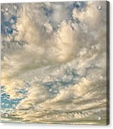 Bay Clouds Acrylic Print