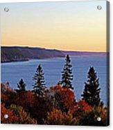 Bay Of Fundy Coastline - New Brunswick Canada Acrylic Print