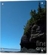 Bay Of Fundy Landmark Acrylic Print