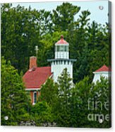 Bay Of Green Bay Lighthouse Acrylic Print