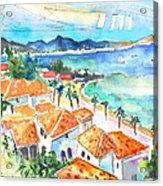 Bay Of Saint Martin Acrylic Print