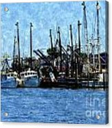 Bay Side Acrylic Print