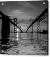 Bay Bridge Strength Acrylic Print