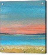 Bay Sunset Acrylic Print