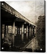Bay View Bridge Acrylic Print by Scott Pellegrin