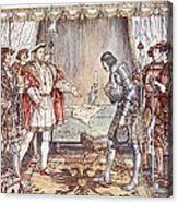Bayard Presented To Henry Viii Acrylic Print