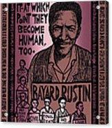 Bayard Rustin Acrylic Print