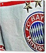 Bayern Munchen Poster Art Acrylic Print