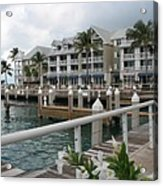 Bayfront Key West II Acrylic Print