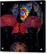 Bazaar Lights Acrylic Print