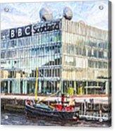 Bbc Scotland Broadcasting Centre Glasgow Acrylic Print