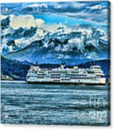 B.c. Ferries Hdr Acrylic Print