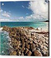 Beach At Atlantis Resort Acrylic Print