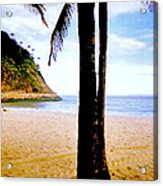 Beach At Ipanema - 2 Acrylic Print
