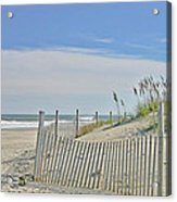 Beach At Outer Banks Acrylic Print