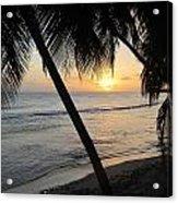 Beach At Sunset 4 Acrylic Print