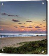 Beach At Twilight Acrylic Print