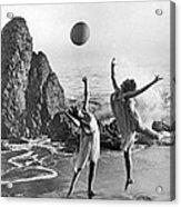Beach Ball Dancing Acrylic Print