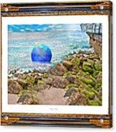 Beach Ball Dreamland Acrylic Print