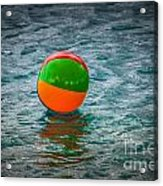 Beach Ball Float Acrylic Print