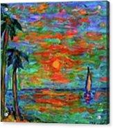 Beach Beauty Acrylic Print