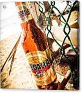 Beach Beer Acrylic Print