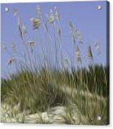 Beach Dune Pixelated Acrylic Print