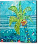 Beach Fest Acrylic Print