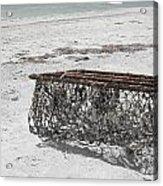 Beach Finds Acrylic Print
