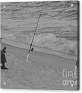 Beach Fishing Acrylic Print