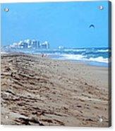 Beach Front 002 Acrylic Print