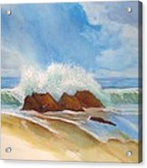 Beach Front Acrylic Print