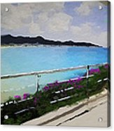 Beach Front View Acrylic Print