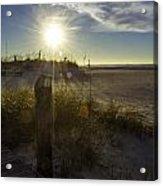 Beach Glare Acrylic Print