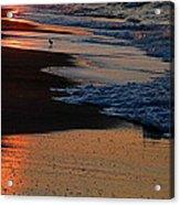 Beach Glow Acrylic Print
