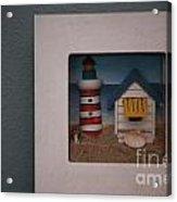 Beach House Acrylic Print