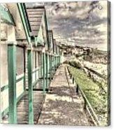 Beach Huts 2 Acrylic Print