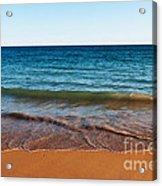 Beach In Algarve Acrylic Print