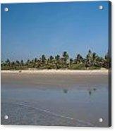 Beach In Goa Acrylic Print