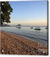 Beach In Mauritius  Acrylic Print
