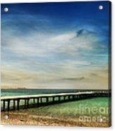 Beach Acrylic Print by Jelena Jovanovic