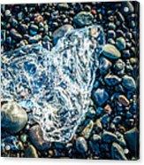 Beach Jewelry - Iceland Ice Photograph Acrylic Print
