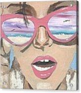 Beach Look Acrylic Print