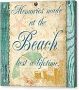Beach Notes-a Acrylic Print
