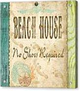 Beach Notes-d Acrylic Print