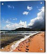 Beach Of Color Acrylic Print